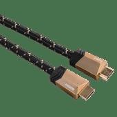 Hama HDMI-2.1-Kabel 3 Meter vergoldet
