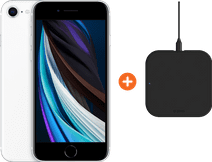 Apple iPhone SE 128 GB Weiß + ZENS Slim Line kabelloses Ladegerät