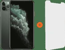 Apple iPhone 11 Pro Max 256GB Midnight Green + InvisibleShield Visionguard Displayschutzfo