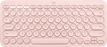 Logitech K380 kabellose Tastatur QWERTZ Rosa