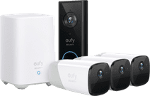 Eufy by Anker Eufycam 2 3-Pack + Video Doorbell Battery