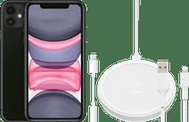 Apple iPhone 11 64 GB Schwarz + Zubehörpaket Erweitert