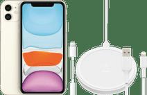 Apple iPhone 11 128 GB Weiß + Zubehörpaket Erweitert