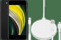 Apple iPhone SE 128 GB Schwarz + Zubehörpaket Erweitert