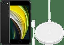 Apple iPhone SE 128 GB Schwarz + Zubehörpaket Basic