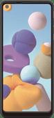 Azuri Curved Case Friendly Samsung Galaxy A21s Displayschutzfolie