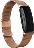 Fitbit Inspire/Inspire 2 Milanaise-Band Roségold
