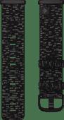 Fitbit Versa 3/Sense Nylonband Anthrazit L