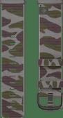 Fitbit Versa 3/Sense Nylonband Grün Camouflage S