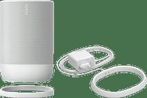 Sonos Move + Extra Ladestation Weiß