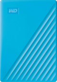 WD My Passport 4 TB Blau