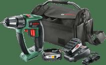 Bosch PSR 18 LI-2 Ergonomisch + 18V 2,5 Ah Starter Set + Werkzeugtasche