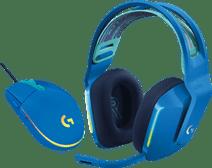 Logitech G733 LIGHTSPEED Wireless Gaming Headset Blau + Logitech G203 Gaming Mouse