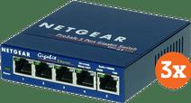 Netgear GS105 3er-Pack