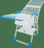 BlueBuilt-Wäscheständer 25 Meter mit Wäschekorb, Wäscheklammern und Wäschenetz