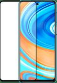 Azuri Rinox Armor Xiaomi Redmi Note 9 Pro Displayschutzfolie Glas Schwarz