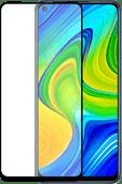 Azuri Rinox Armor Xiaomi Redmi Note 9 Displayschutzfolie Glas Schwarz
