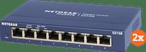 Netgear GS108 2er-Pack