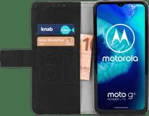 Nur für den Fall Brieftasche Motorola Moto G8 Power Lite Bücherregal Schwarz