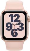 Apple Watch SE 40mm Gold Aluminium Rosa Sportarmband