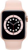Apple Watch Series 6 40mm Gold Aluminium Rosa Sportarmband