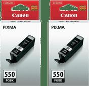 Canon PGI-550 Patronen Pigmentschwarz Doppelpack