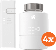 Tado Intelligenter Heizkörperthermostat Starter 4er-Pack