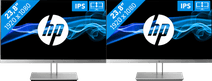 2x HP EliteDisplay E243
