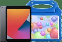 Apple iPad (2020) 128 GB WLAN Space Grau + Kinderhülle Blau