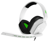 Astro A10 Gaming-Headset voor PC, PS5, PS4, Xbox Series X|S, Xbox One - Weiß/Grün