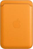Apple Leather Kartenhalter für iPhone mit MagSafe California Poppy