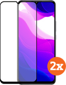 Azuri gehärtetes Glas Xiaomi Pocophone F2 Pro Displayschutz Duo Pack