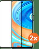 Azuri gehärtetes Glas Xiaomi Redmi Note 9 Pro Displayschutzfolie Duo Pack