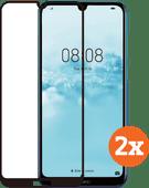Azuri gehärtetes Glas Huawei Y6 (2019) Displayschutzfolie Duo Pack