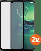 Azuri Tempered Glass Motorola Moto G8 Plus Displayschutzfolie Doppelpack