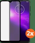 Azuri Tempered Glass Motorola One Macro Displayschutzfolie Duo