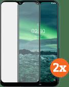 Azuri Tempered Glass Nokia 2.3 Displayschutzfolie Doppelpack