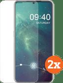 Azuri Tempered Glass Nokia 7.2 Displayschutzfolie Doppelpack