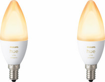 Philips Hue White Ambiance E14 Bluetooth Duo Pack