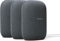 Google Nest Audio Charcoal 3er-Pack