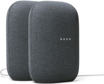 Google Nest Audio Charcoal Doppelpack