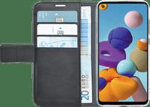 Azuri Wallet Magnet Samsung Galaxy A21s Book Case Schwarz