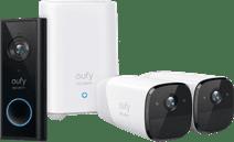 Eufycam 2 Pro Duo Pack + Video Doorbell Battery