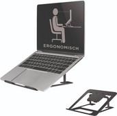 NewStar NSLS085 Faltbarer Laptopständer Schwarz