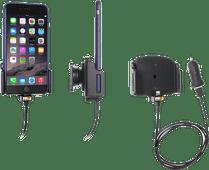 Brodit Universal-Telefonhalter Auto 75 - 89 mm Armaturenbrett mit Lightning-Ladegerät