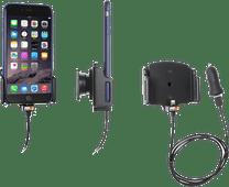 Brodit Universal Telefonhalterung Auto 62 - 77 mm Armaturenbrett mit Lightning-Ladegerät