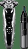Philips Serie 9000 S9711 / 31 + Philips NT3650 / 16 Nasentrimmer
