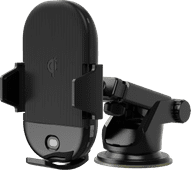 Veripart Universal-Telefonhalter mit kabellosem Laden für Armaturenbrett/Lüftungslamellen