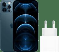 Apple iPhone 12 Pro 128 GB Pazifikblau + Apple USB-C-Ladegerät