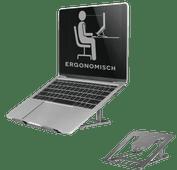 Neomounts by Newstar NSLS085GREY Faltbarer Laptopständer Grau